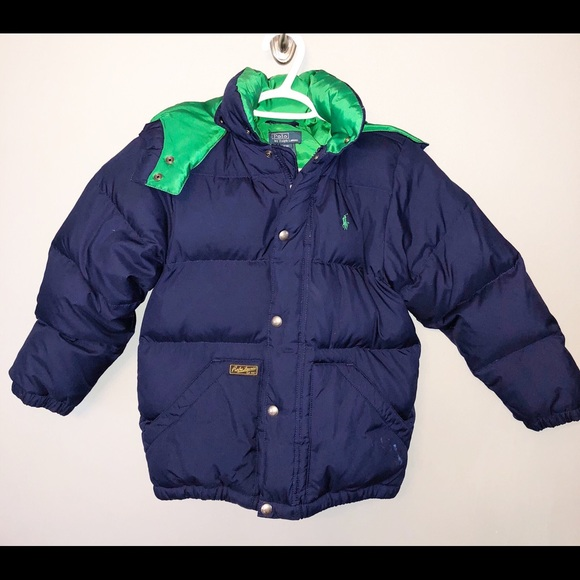 1e05068f2 Polo by Ralph Lauren boys Navy Down Jacket size 8